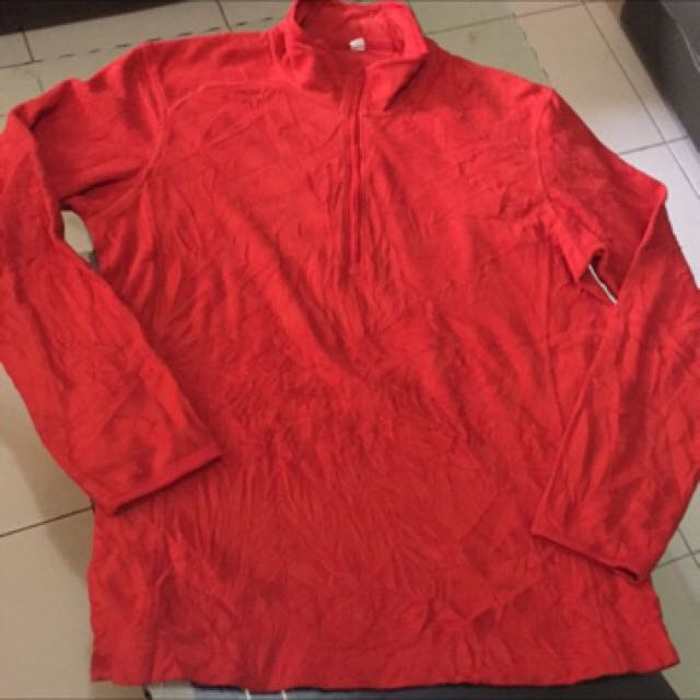 Uniqlo bright colored sweater