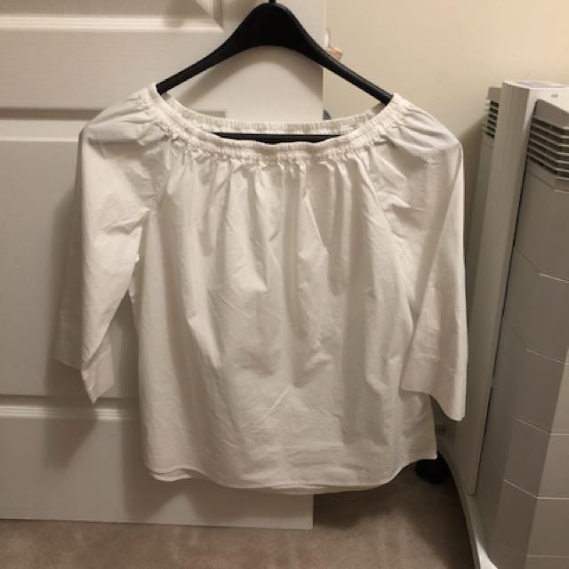 Uniqlo Off-Shoulder Blouse