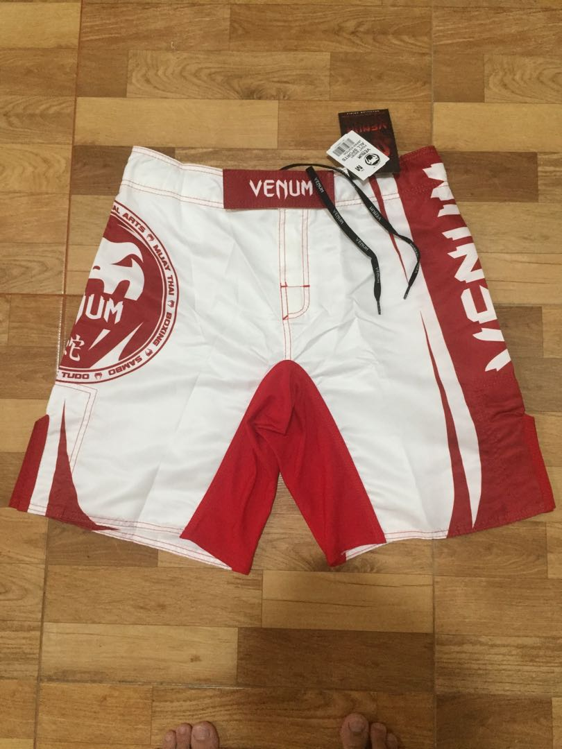 Venum Fight Shorts - All Sports Japan Ed - Celana MMA Shorts - Bela Diri - Martial Art - Boxing - Muay Tha