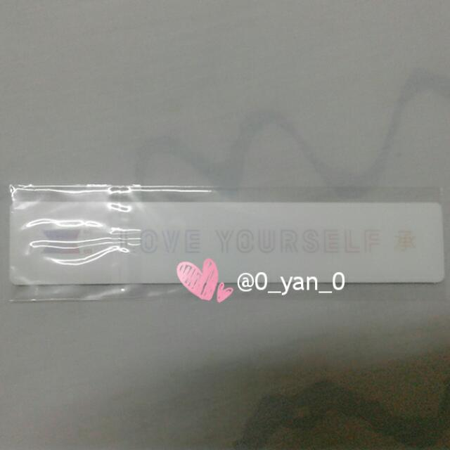 [WTS Only] BTS Love Yourself 承 Official Bookmark