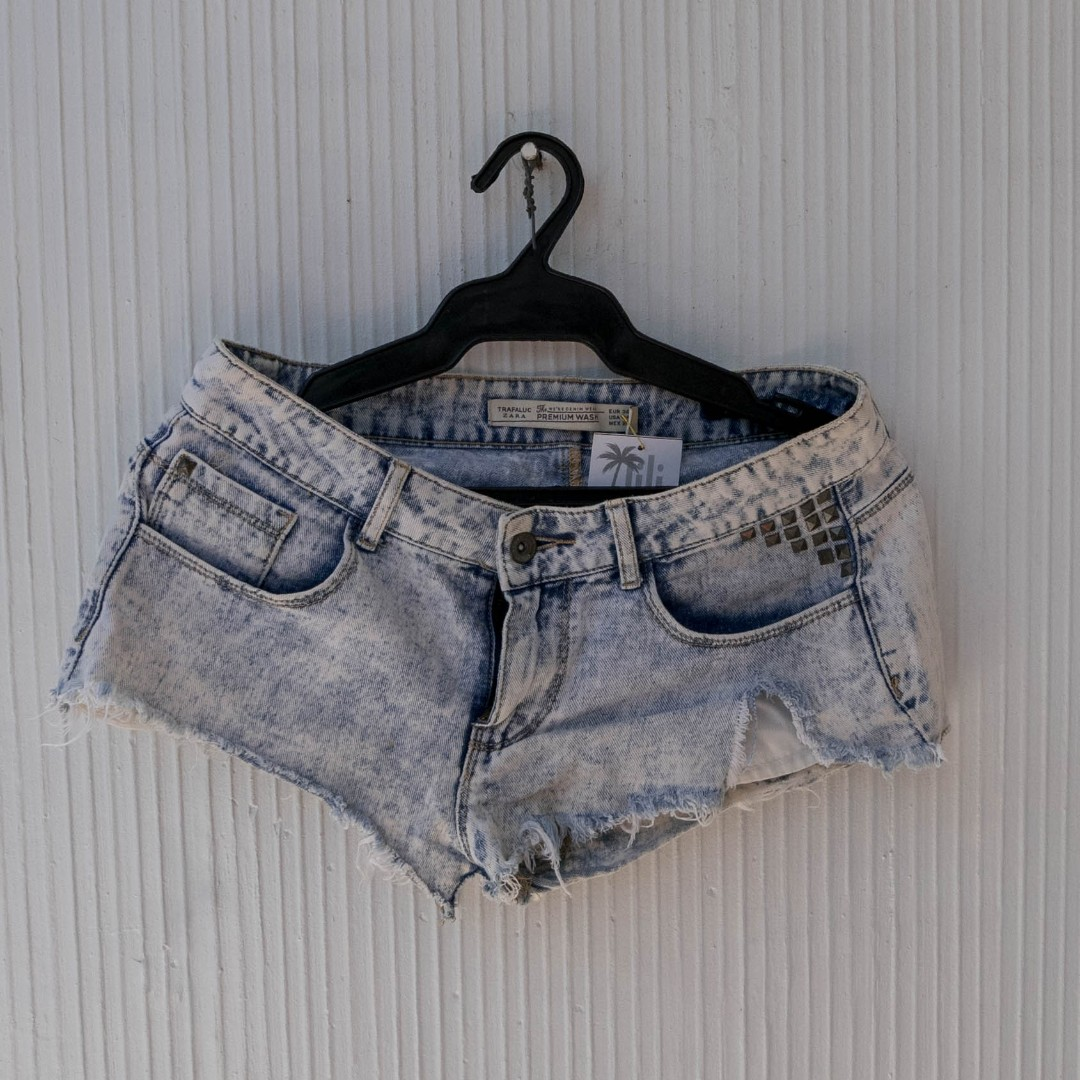 Zara Acid Wash Shorts