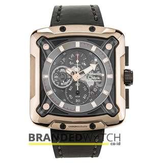 Alexandre Christie 3030 MCL Black Bronze Gold / Jam Tangan Pria Alexandre Christie 3030 MCL / Alexandre Christie Pria 3030 MCL / AC 3030 MCL Black Bronze Gold