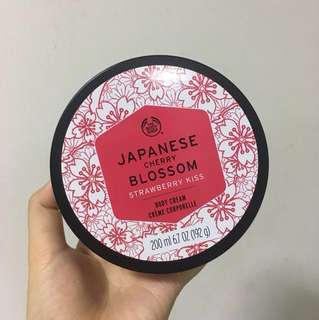 Body shop Japanese cherry blossom body cream butter