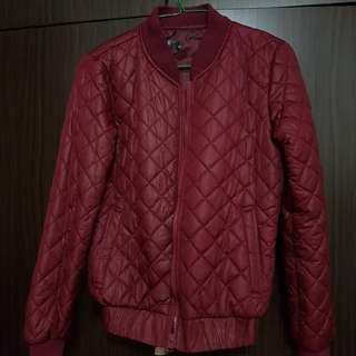 Wine Red Light Jacket