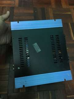 Car amplifier spider 350 watts