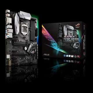 Asus STRIX H270F GAMING | Intel® for 7th/6th Generation Core™ i7/Core™ i5/Core™ i3/Pentium®/Celeron® Processors | ATX | DDR4 Memory Support | HDMI/DVI-D/DisplayPort Ports