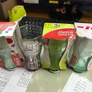 可口可樂coca cola 世界杯玻璃杯每隻