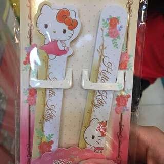 Brand new Hong Kong hello kitty, Melody, LTS Nail file set