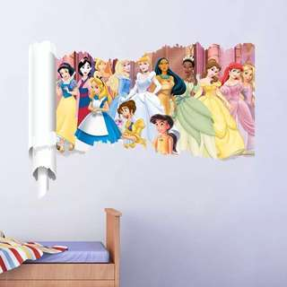 💕 Disney Princess wall decal / wall stickers / home deco
