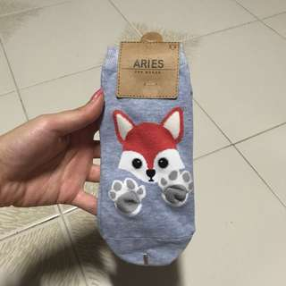 Cute Animal Ankle Socks