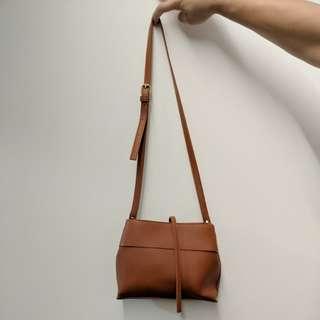 Brown Small Sling Bag