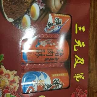 新東陽肉鬆 旗魚鬆 三入禮盒組