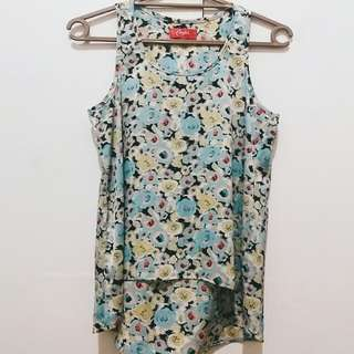 Candies sleeveless floral top