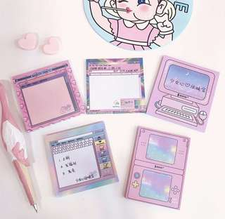 Japanese Pocket Note pad post it (Instock)