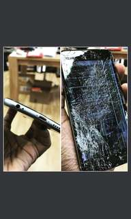 Iphone Crack Screen Replacement