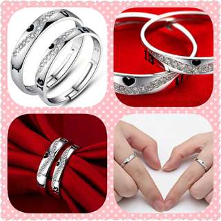 S925 Couple Ring (CR-022)