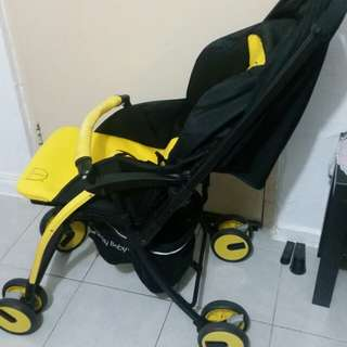 Lucky Baby March Yellow Stroller