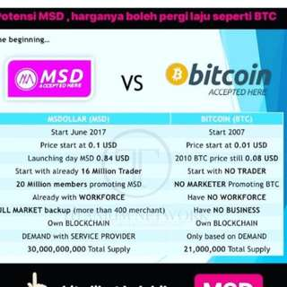 MSD CRYPTOCURRENCY 💲💲💲