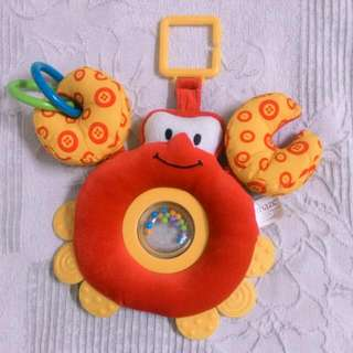 Lamaze Mr Crab Rattle Tether Tot