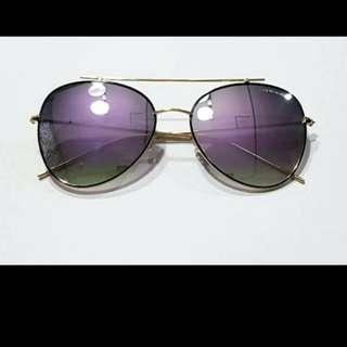 Korean Fashion Sunglasses Projekt Product (Purple-Black)