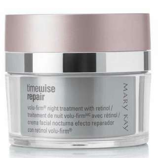 Special promo for Mary Kay TimeWise Repair Volu-firm Night Treatment With Retinol