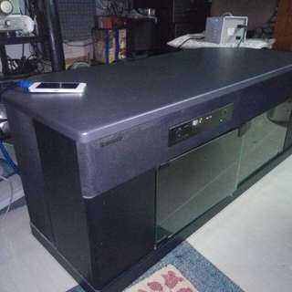 Panasonic TV Stand With Built-in Home Theater Audio System