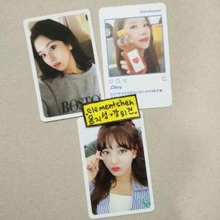 Twice Likey Photocards