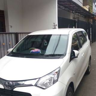 Toyota calya G 2017 over kredit