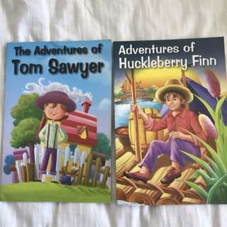 Huckleberry Finn & Tom Sawyer