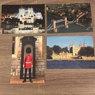 全新 英國 倫敦 England London postcard 明信片 名信片
