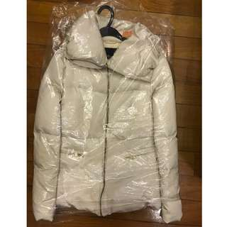 Zara women authentic down feather jacket