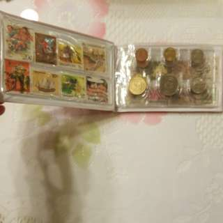 90's Malaysia/Singapore stamps & coins