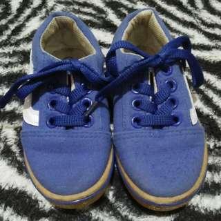 Blue Cute Shoes