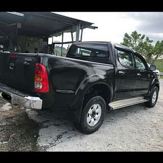 Toyota Hilux 2.5 G Spec (M) 2007 for Sambung Bayar /Car Continue Loan