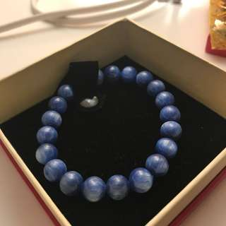 藍珠手鏈 blue gem stone bracelet
