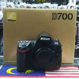 USED NIKON D700 FULL FRAME DSLR BODY