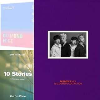 [PRE-ORDER] New album lists