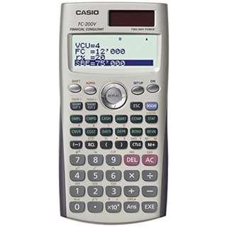 Casio fc-200v Calculator