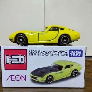 TOMY TOMICA AEON 第18彈 TOYOTA 2000GT