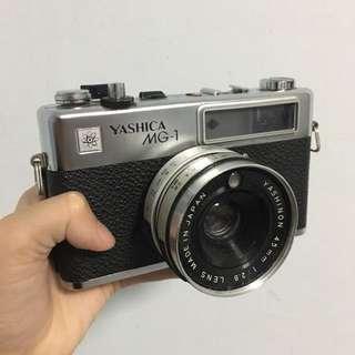 Yashica MG-1 35mm film camera
