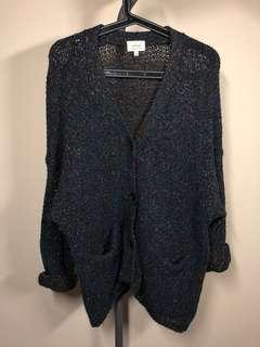 Aritzia Wilfred Biot knit cardigan
