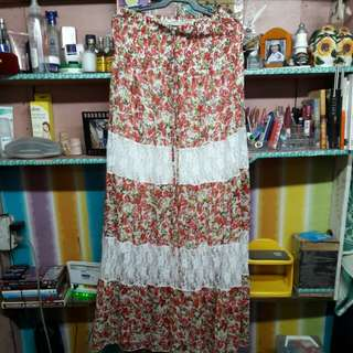 (Reprice) Tube maxi dress