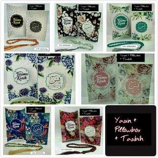 Yasin + Pillow box + Tasbih