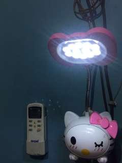 LAMPU TIDUR PINK (hello kitty)
