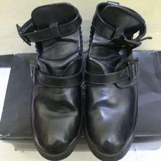 Nasty Black Boots