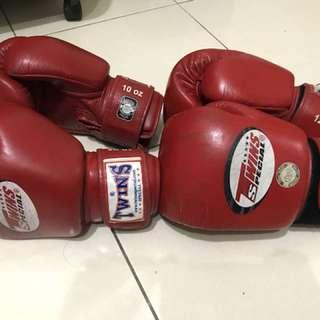 Twins 10oz 12oz 拳擊 手套 boxing 有氧 健身