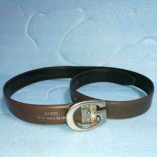 75-80% Gucci Classic brown belt