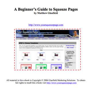 A Beginner's Guide to Squeeze Pages eBook