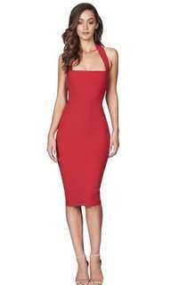 NOOKIE: XS Red Boulevarde Dress