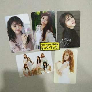 Apink Photocards